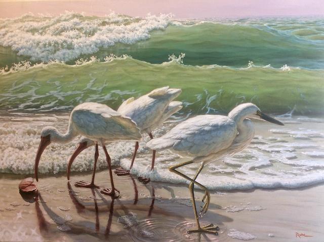 , 'Beach Comber,' 2017, Renata Fine Arts