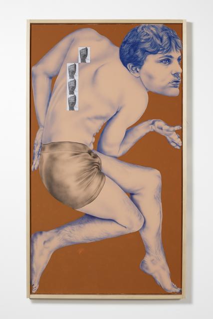 , 'Self-Portrait as Michael Pitt (Striking Surface),' 2018, Bianca D'Alessandro