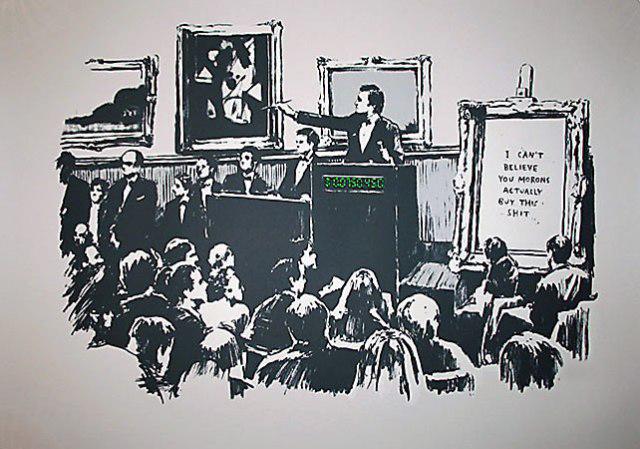 Banksy, 'White Morons', 2007, Taglialatella Galleries