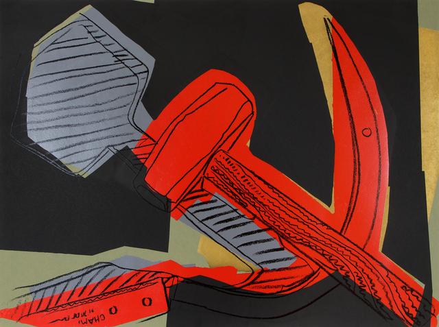 Andy Warhol, 'Hammer & Sickle', 1977, Heather James Fine Art