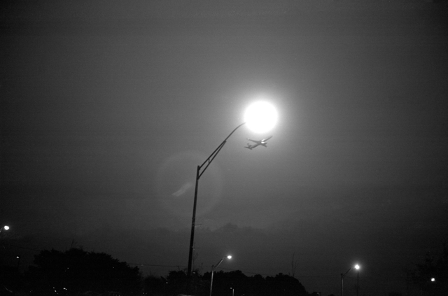 , 'College Park, GA (plane and streetlight),' 2016, Yancey Richardson Gallery
