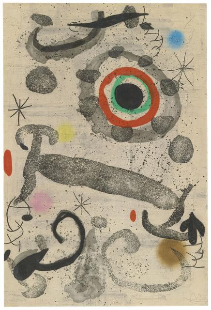 Joan Miró, 'L'astre du marécage', 1967, Christie's