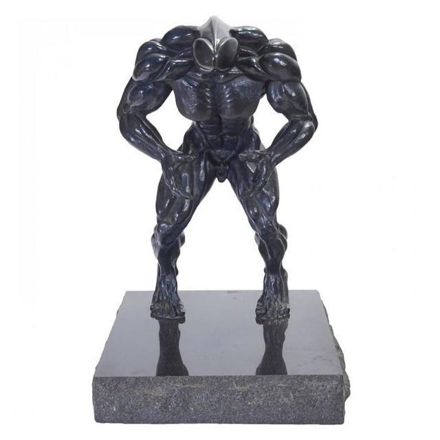 """Robert Longo, 'Rare """"Dickhead"""" Robert Longo  Bronze Sculpture', 1980-1989, Lions Gallery"""