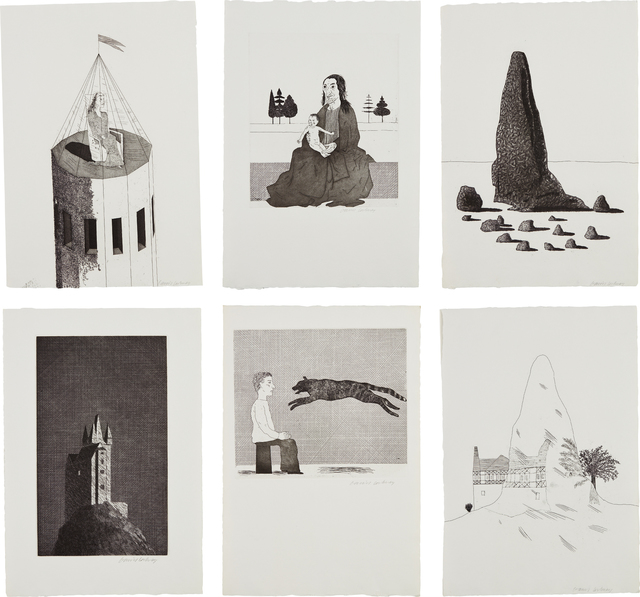 David Hockney, 'Illustrations for Six Fairytales from the Brothers Grimm', 1969, Phillips