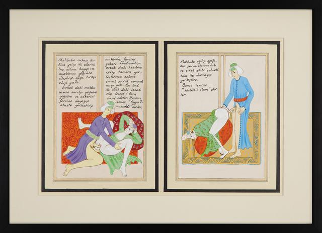 , 'BAHNAME II (5-6) / LUSTBOOK II (5-6),' 2015, RAMPA