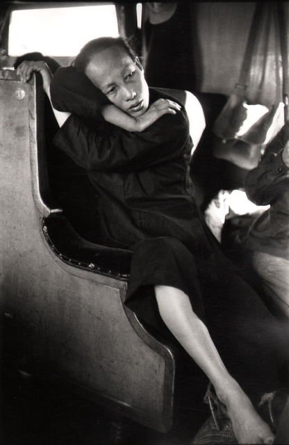 , 'Peasant woman on the train.,' 1957, Atlas Gallery