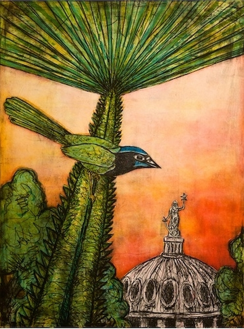 , 'Texas Green Jay,' 2015, William Campbell Contemporary Art, Inc.
