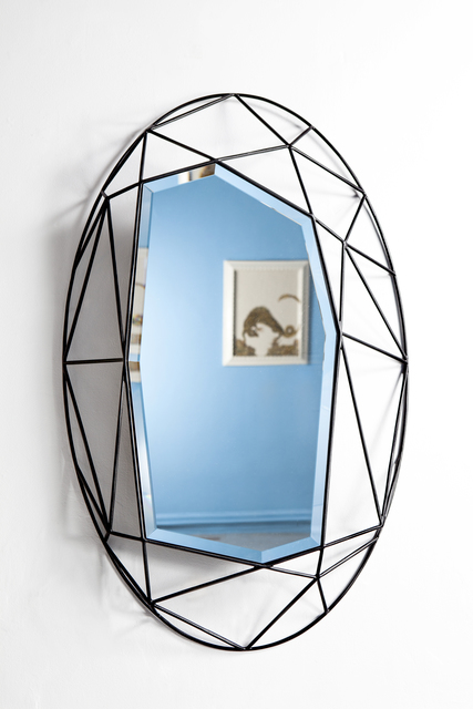 , 'Oval Maryline Mirror,' 2014, Cristina Grajales Gallery