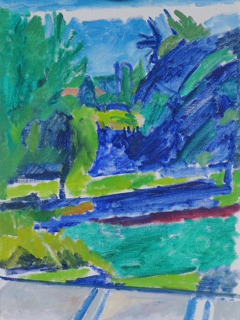 , 'Quebec Garden,' 1990, Geary