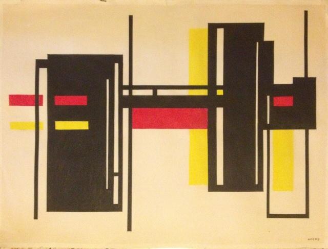 , 'Untitled (Composicion Concreta),' ca. 1953, AREVALO