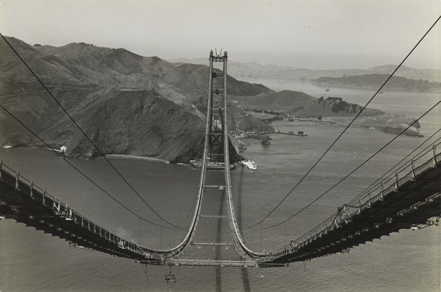 , 'Golden Gate Bridge,' 1935, San Francisco Museum of Modern Art (SFMOMA)