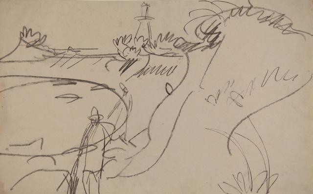 , 'Fehmarnküste mit Leuchtturm,' ca. 1912, Henze & Ketterer & Triebold