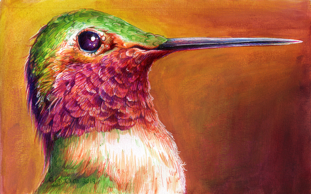 , 'Green Hummingbird,' 2019, Deep Space Gallery
