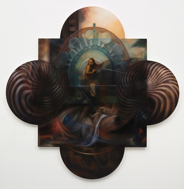 , 'Untitled (Quatrefoil),' 2015-2016, Parafin