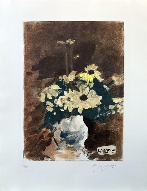 Georges Braque, ' Vase de fleurs jaunes', ca. 1960, Print, Etching, Le Coin des Arts