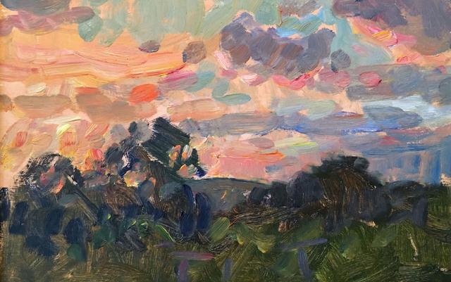 , 'Sunset Sketch,' 2016, Grenning Gallery
