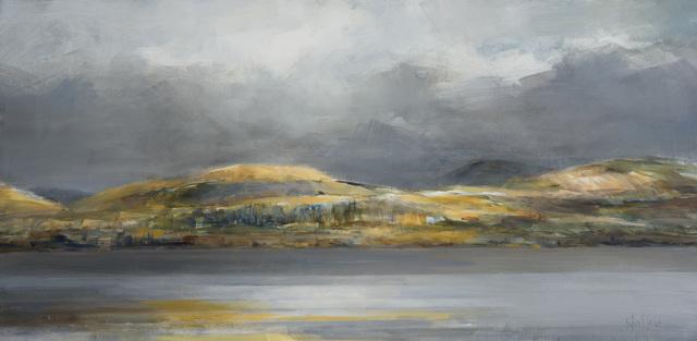 , 'Across Loch Fyne,' 2017, Thackeray Gallery