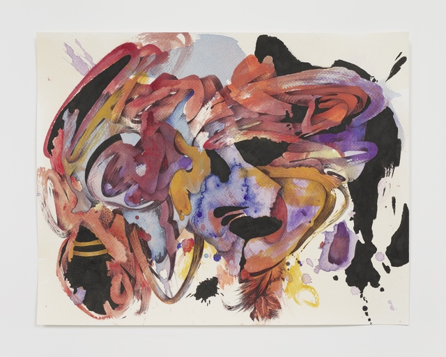 Ahmed Alsoudani, 'Cut of Time 10', 2020, Drawing, Collage or other Work on Paper, Acrylic and pen on paper, Marlborough New York
