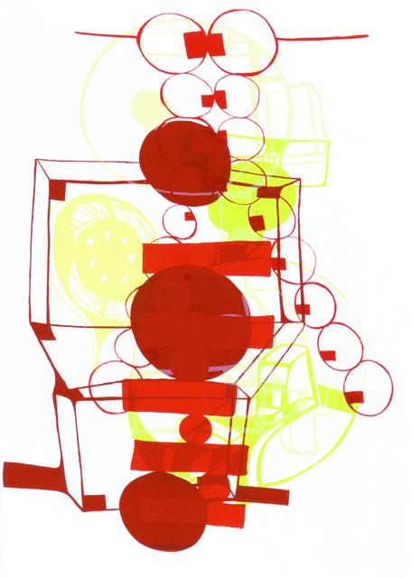 Joanne Greenbaum, 'Untitled Outtakes: #3', 2002, Lower East Side Printshop