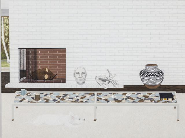 , 'Living Room (Yogi 2),' 2013, ICA Philadelphia