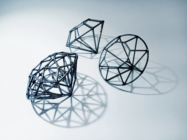 Yumie Kusuda, 'Brilliant Diamond', 2021, Design/Decorative Art, Welded steel sprayed with diamond dust, ARTBOX.GALLERY
