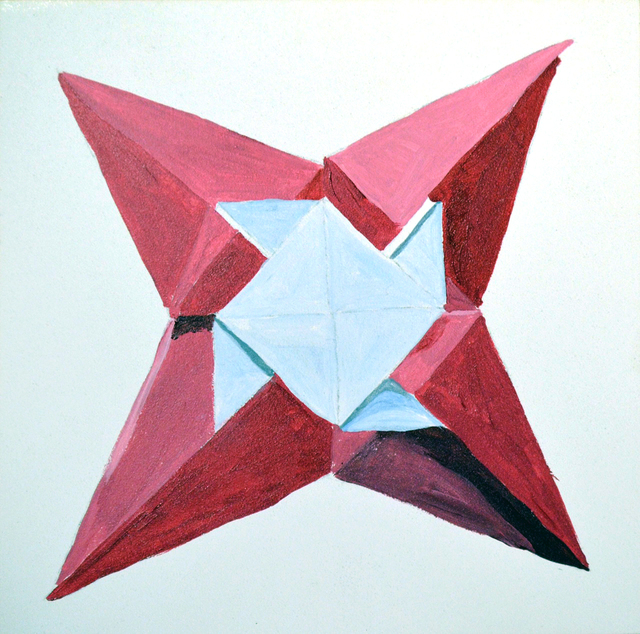 , 'Alizarin Star,' 2016, Ro2 Art