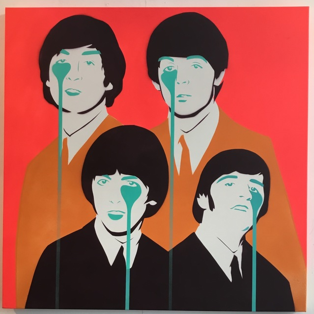 ", 'Beatles ""Norwegian Wood"",' 2017, Weinstein Gallery"