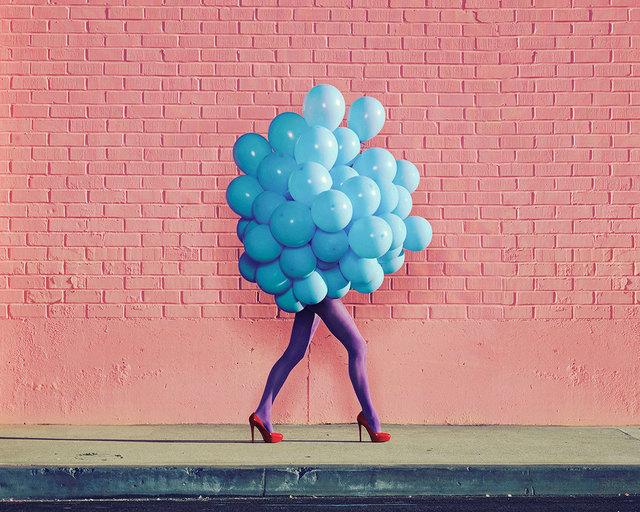 , 'Je Ne Suis Pas Seul Sans Toi (Blue Balloons),' 2013, De Soto Gallery