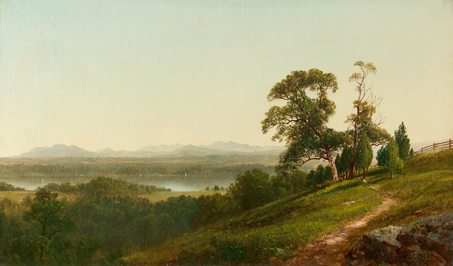 , 'View of the Hudson from Barrytown, New York,' 1872, Questroyal Fine Art