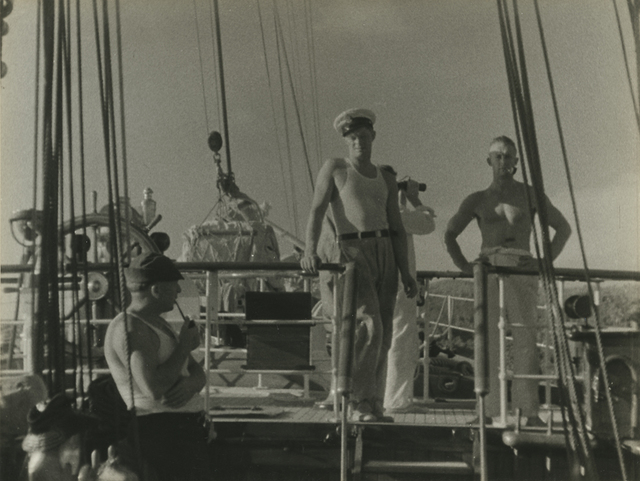 , 'Aboard the Cressida, South Pacific.,' 1932, Richard Moore Photographs