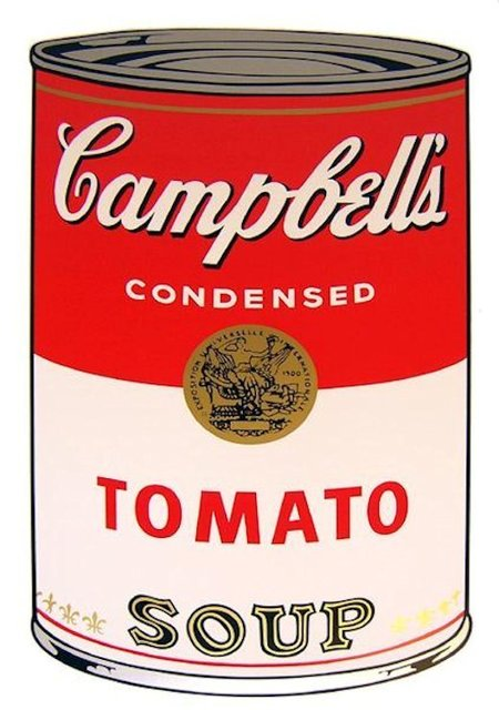 Andy Warhol, 'Campbells Soup Tomato - Sunday B. Morning (After)', ARTEDIO