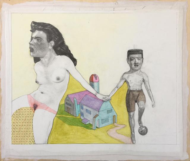 Pat Andrea, 'L'enfance de Cristiano', 2017-2018, Galerie DYS
