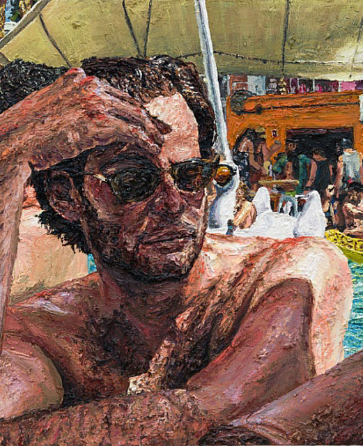 , 'Jay in the pool,' 2017, Depart Foundation