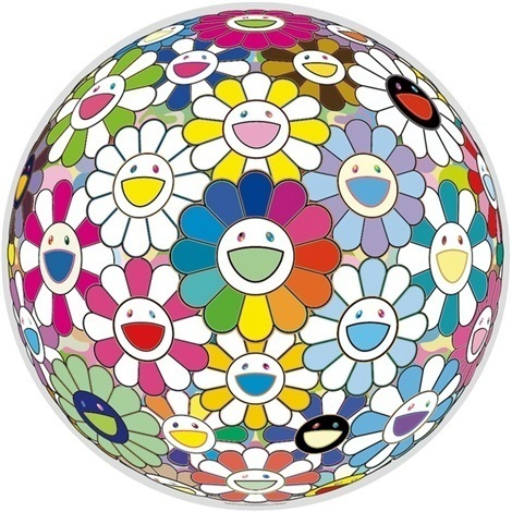 Takashi Murakami, 'Flowerball (Want to Hold You)', 2015, Lougher Contemporary