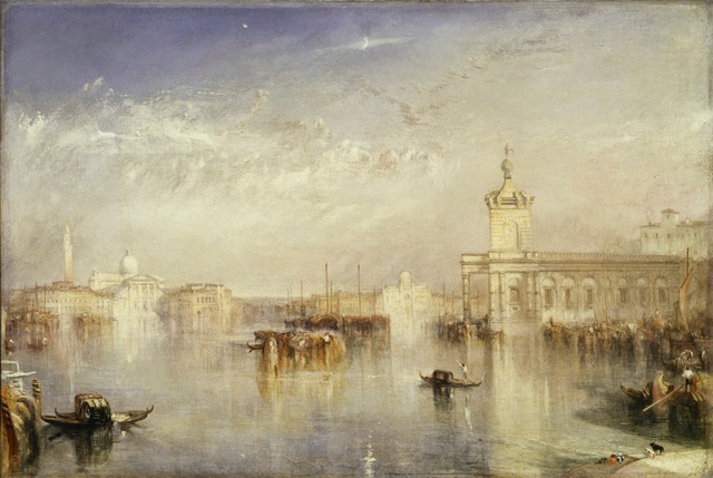 , 'The Dogana, San Giorgio, Citella, from the Steps of the Europa,' 1842, de Young Museum