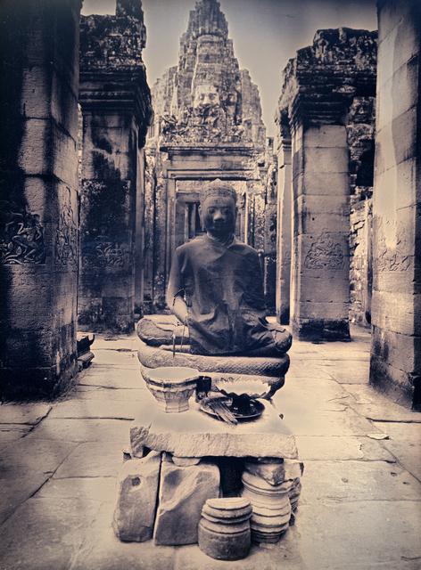, 'Meditating buddha of Bayon,' 2017, Lisa Sette Gallery