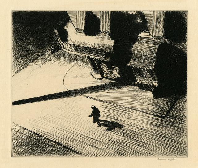 , 'Night Shadows,' 1921, Thomas French Fine Art