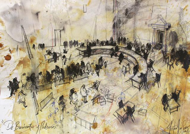 , 'Series: De Burócratas y Padrinos ,' 2016, Victor Lope Arte Contemporaneo
