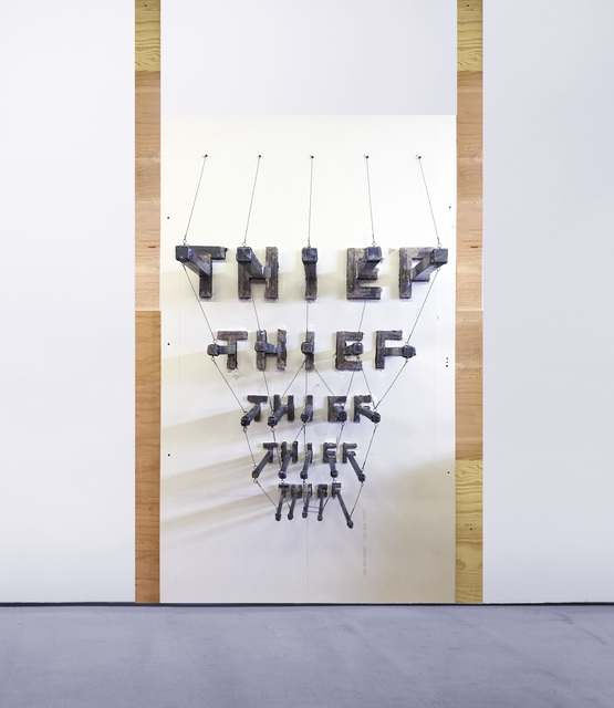 , 'TBD (Thief Cattle Brands),' 2016, VARIOUS SMALL FIRES
