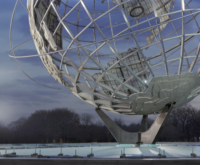 ", 'New York 1964 World's Fair, ""Peace Through Understanding,"" Unisphere,' 2009, Tracey Morgan Gallery"