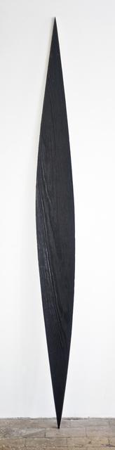 , 'Black wooden ellipse,' 2015, Gallery Sofie Van de Velde