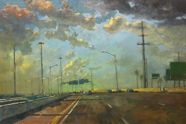 , 'Freeway,' 2018, George Billis Gallery