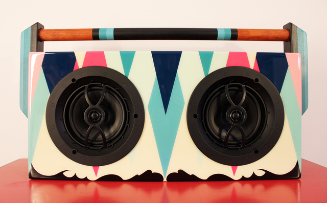 , 'Super-Sonic' (BoomBox),' 2016, StolenSpace Gallery
