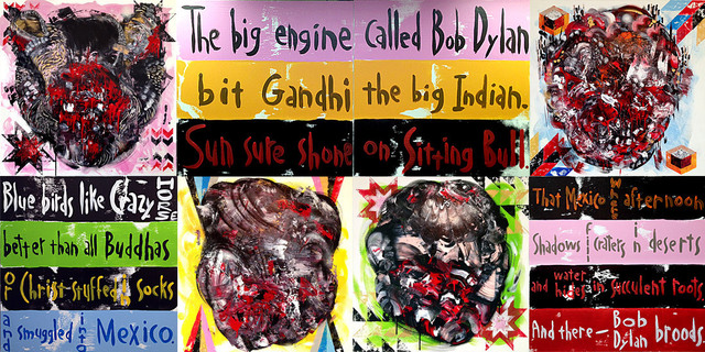 , 'The Big Engine Called Bob Dylan,' 2014, Swerdlow Art Group