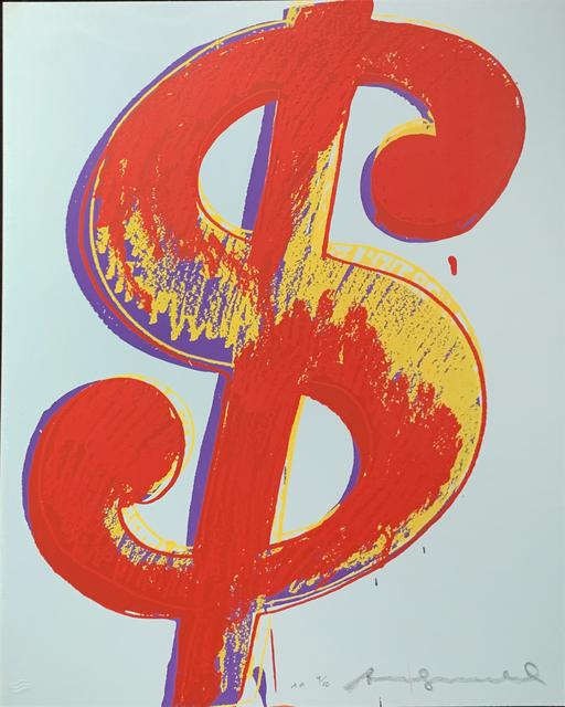 Andy Warhol, '$ (1) II.279', 1982, Hamilton-Selway Fine Art