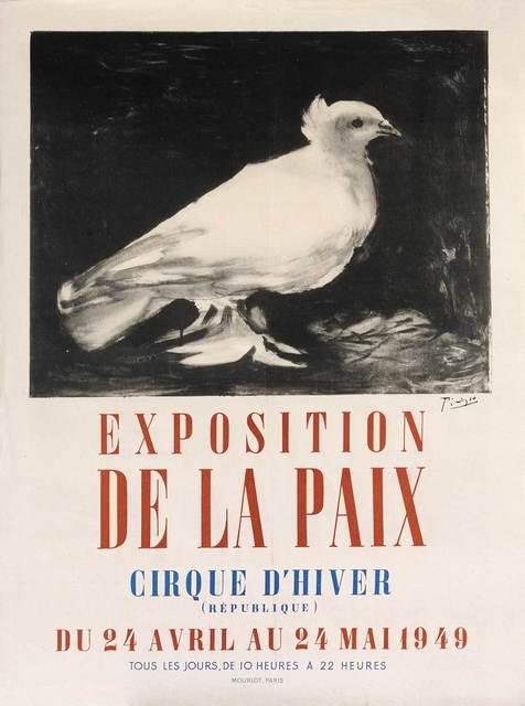 Pablo Picasso, 'Exposition de la Paix', 1949, Print, Lithograph, Goldmark Gallery