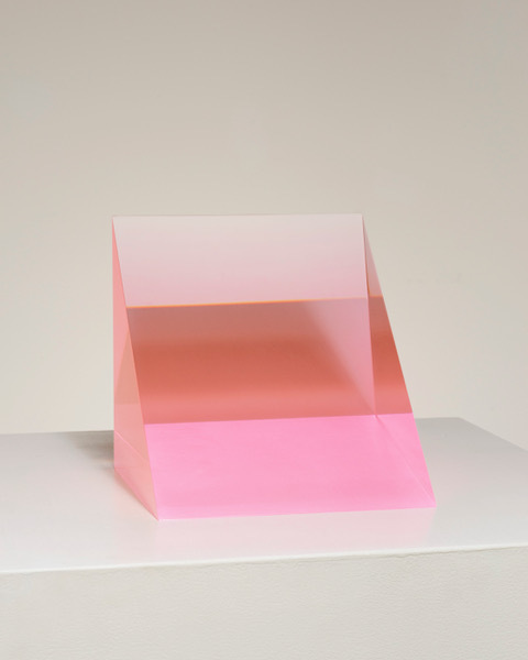 , '5/14/19 Fusion Red Wedge (Pink),' 2019, Pace Gallery
