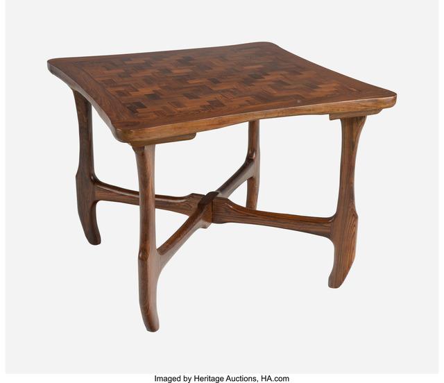 Don Shoemaker, 'Games Table', circa 1965, Design/Decorative Art, Cocobolo wood, Heritage Auctions