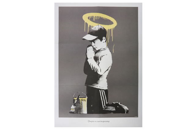 Banksy, 'Forgive Us Our Trespassing', 2010, Print, Offset lithograph printed in colours on wove paper, Chiswick Auctions