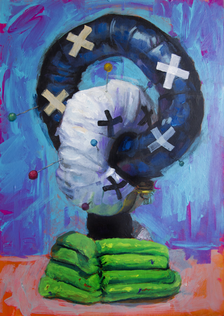 , 'The DoubleEx,' 2017, Galerie Heike Strelow